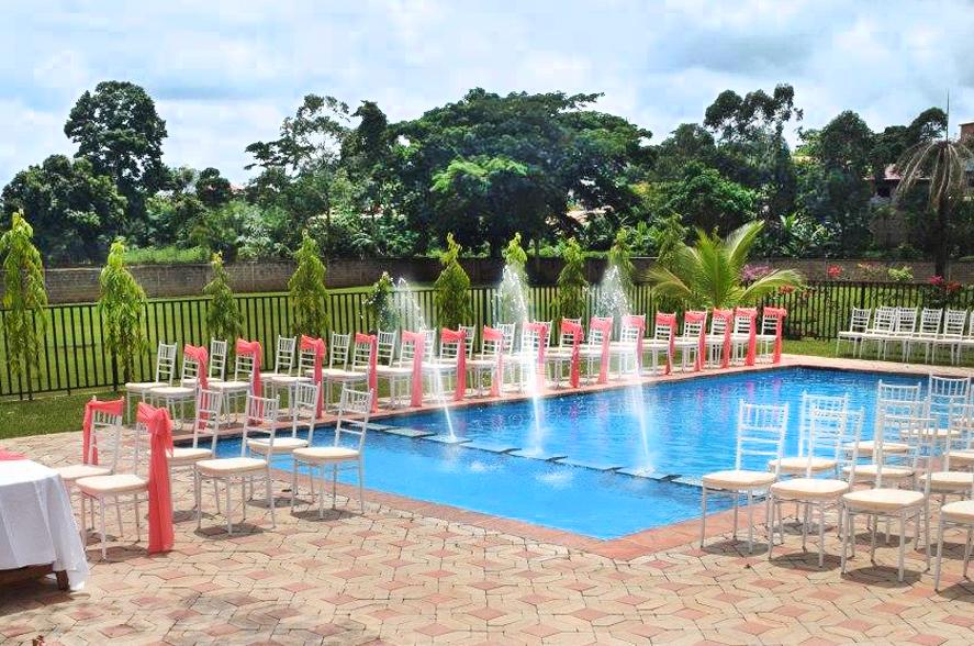 Vallée Verte, Salle et Espace de mariage avec Traiteur à Yaoundé