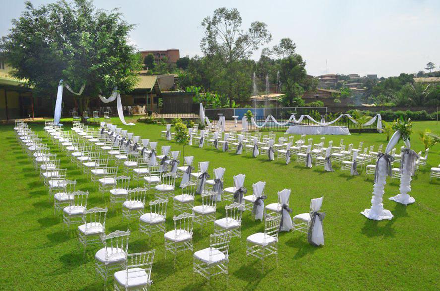 Vallée Verte, mariage en plein air à Yaoundé