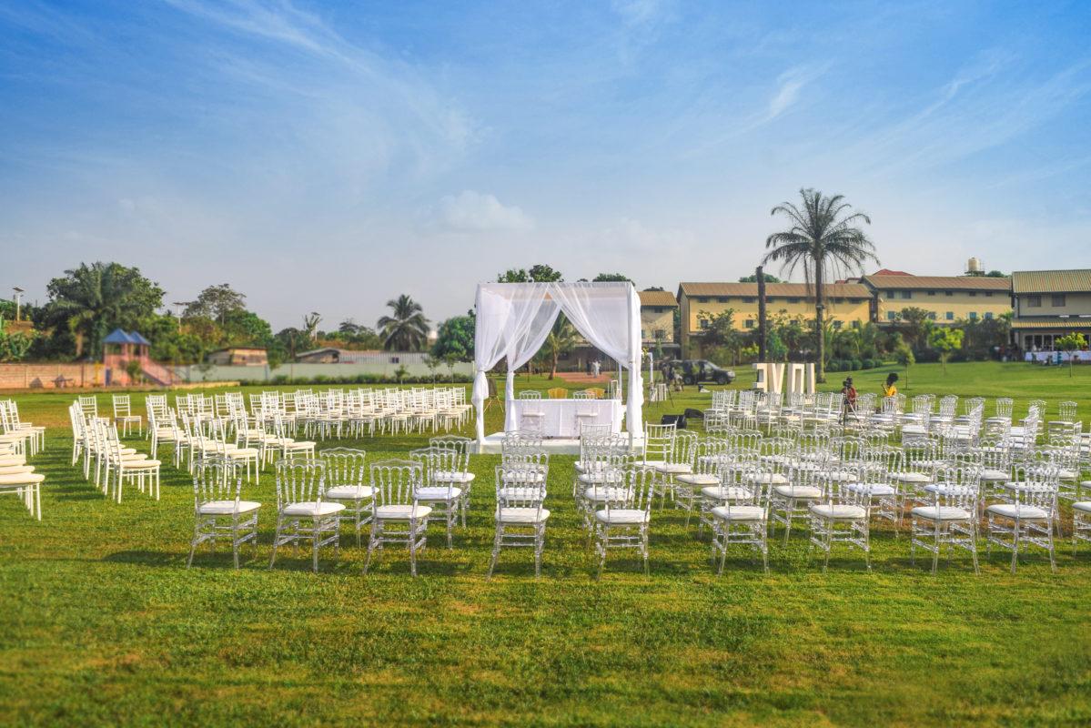 Espace Vert pour mariages à Yaoundé